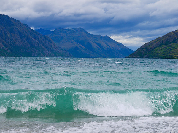 Lake Wakatipu, Queenstown.